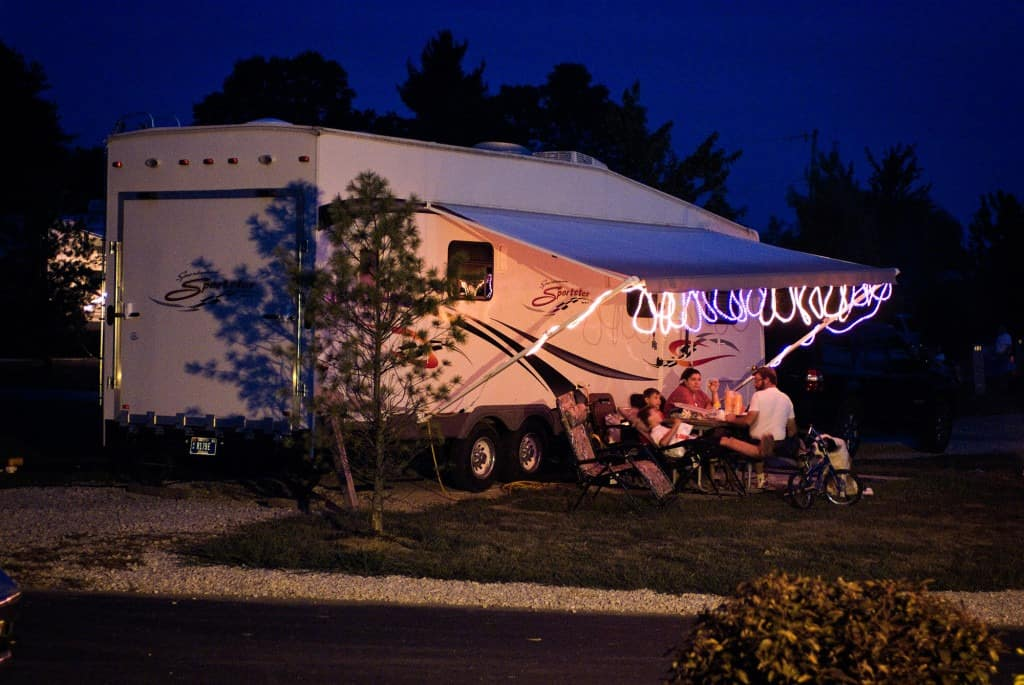 Accommodations at RV Park Bloomington IN