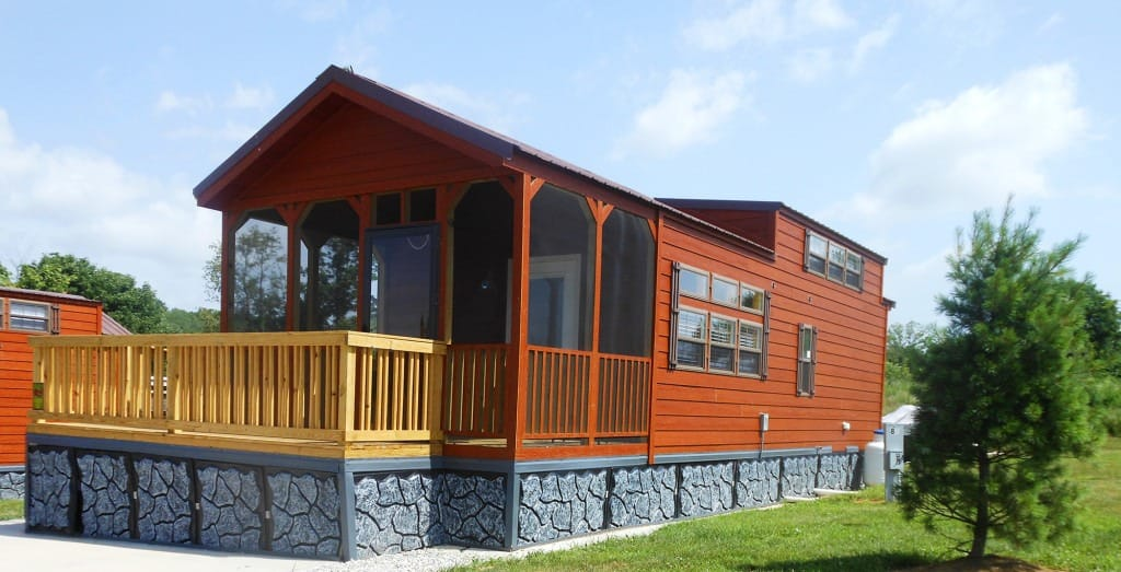 Lake Monroe Cabins at RV Park Bloomington IN