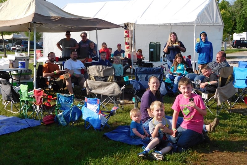 Tent Camping at RV Park Bloomington IN
