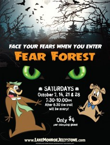 Fear Forest October 7, 14, 21 & 28 at RV Park Bloomington IN